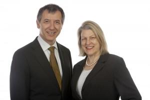 Jenny Hamley and Tony Rabar